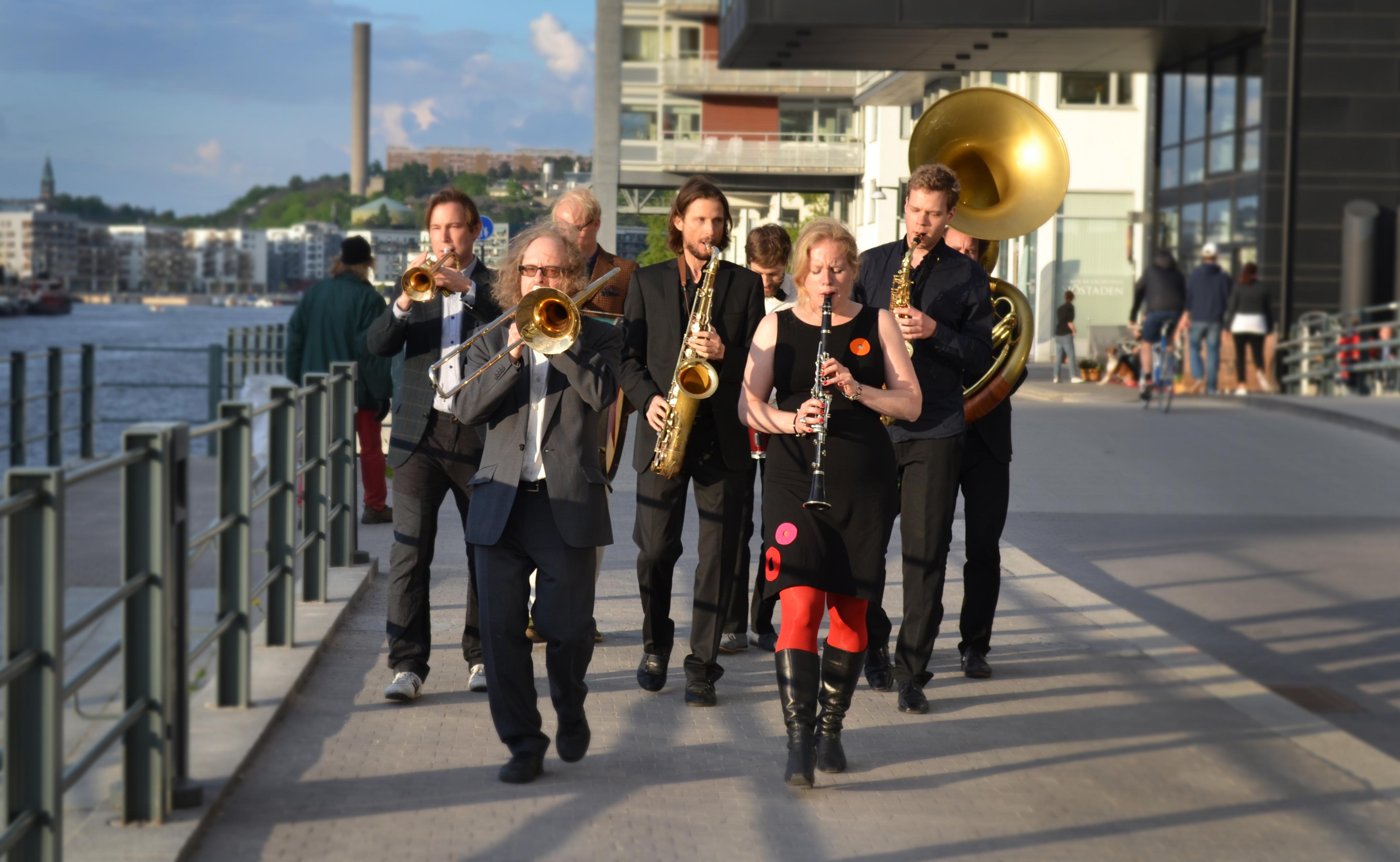 brassband hammarby sjöstad STOR